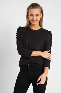 Czarna bluzka ORSAY w stylu casual