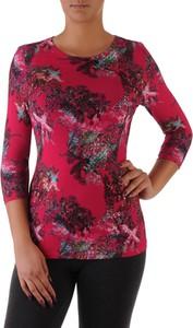 Fioletowa bluzka POLSKA z długim rękawem