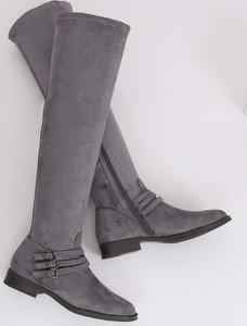 Czarne buty sportowe MojBut.pl sznurowane z tkaniny w sportowym stylu