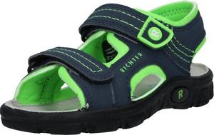 Granatowe buty dziecięce letnie Richter