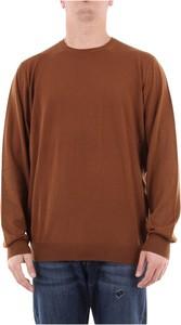 Sweter Fedeli w stylu casual z wełny