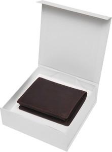 Brązowy portfel męski Top Secret