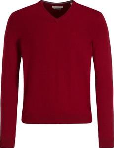 Czerwony sweter Bugatti