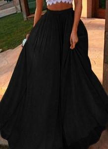 Czarna spódnica Cikelly midi