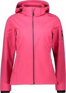 Różowa kurtka CMP w stylu casual krótka