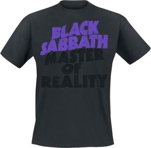 T-shirt Black Sabbath z krótkim rękawem z bawełny