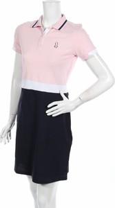 Sukienka Jimmy & Co z krótkim rękawem prosta w stylu casual