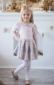 Różowa sukienka dziewczęca All For Kids z dzianiny