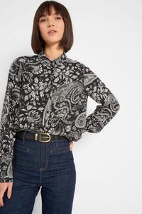 Koszula ORSAY z tkaniny z długim rękawem