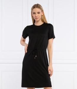 Czarna sukienka Superdry w stylu casual