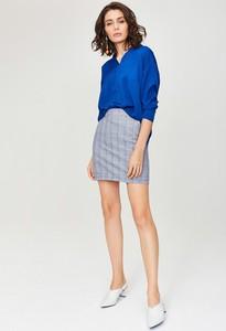 Niebieska spódnica Monnari mini