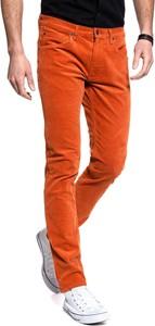 Spodnie Lee ze sztruksu