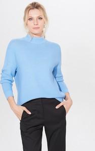 Niebieski sweter Mohito w stylu casual
