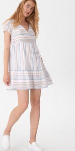 462834dc81 solar sukienka w paski - stylowo i modnie z Allani