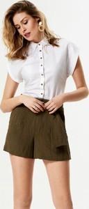 Koszula Natty Looker z jeansu z kołnierzykiem