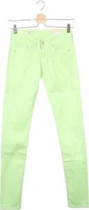 Zielone spodnie Pepe Jeans w stylu klasycznym
