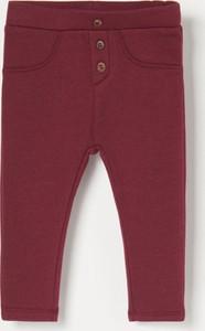 Czerwone legginsy dziecięce Reserved