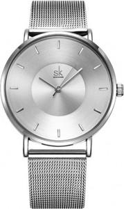 Shengke srebrny zegarek damski sk na bransolecie
