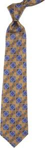 Brązowy krawat Kiton
