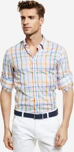 Koszula Lambert z długim rękawem z bawełny