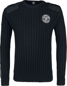 Czarny sweter Emp z bawełny