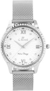 a73167278c36d Zegarek GINO ROSSI 6748B-3C1 (zg788a) silver - Srebrny
