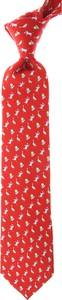 Czerwony krawat Leonard