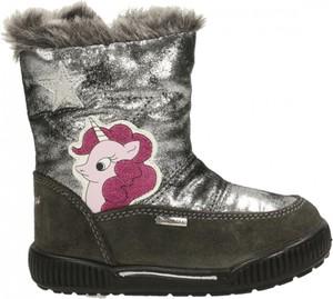 Buty dziecięce zimowe Primigi na zamek