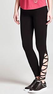 Czarne legginsy Guess