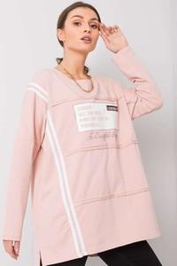Bluzka Sheandher.pl w stylu casual z bawełny z okrągłym dekoltem