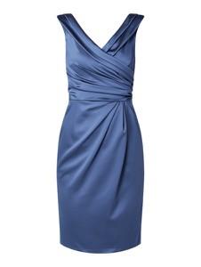 Niebieska sukienka Marie Noir