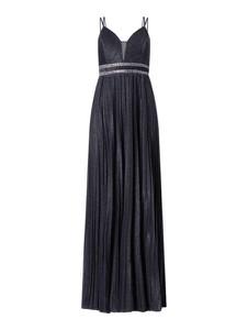 Granatowa sukienka Jake*s na ramiączkach z dekoltem w kształcie litery v