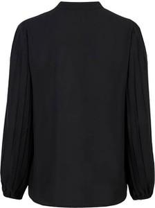 Czarna bluzka Soyaconcept z długim rękawem