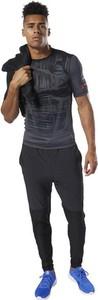 Czarny t-shirt Reebok