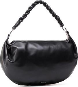 Czarna torebka Quazi na ramię
