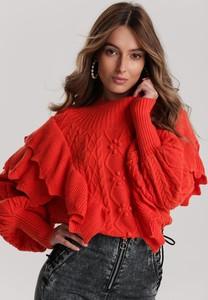 Pomarańczowy sweter Renee