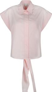 """Koszula Pinko Koszule """"invaghire"""" z krótkim rękawem z kołnierzykiem"""