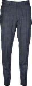 Niebieskie spodnie Brax z wełny