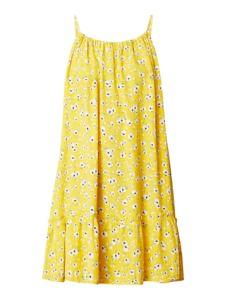 Żółta sukienka Superdry w stylu casual