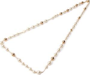 Naszyjnik TORY BURCH - Logo Pearl Rosary 54066 Tory Gold 137