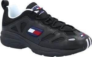 Tommy Jeans Sneakersy | z dodatkiem skóry