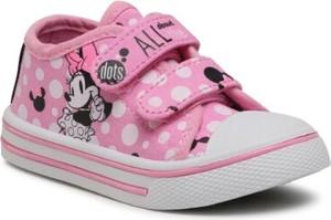 Trampki dziecięce Mickey&Friends na rzepy