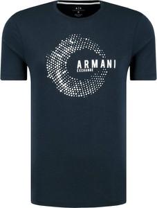 T-shirt Armani Jeans z krótkim rękawem w młodzieżowym stylu