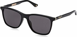 amazon.de Police Sunglasses okulary przeciwsłoneczne męskie ORIGINS 1, czarne (Shiny Black/Grey)