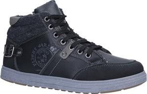 Buty zimowe Casu w stylu casual sznurowane