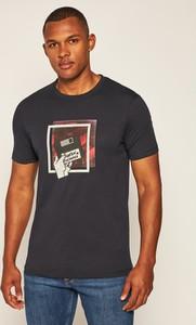 T-shirt Armani Exchange z krótkim rękawem z nadrukiem w młodzieżowym stylu