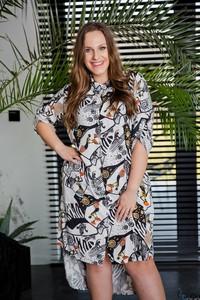 856a618081d7f moda dla puszystych sukienki. - stylowo i modnie z Allani
