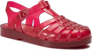 Czerwone sandały Melissa w stylu casual