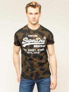 T-shirt Superdry z krótkim rękawem z nadrukiem