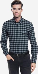 Koszula Wólczanka z długim rękawem z bawełny